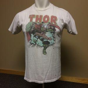 Marvel Comics Thor White Tshirt WeLoveFine Medium